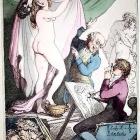 Caricatura delle attitudini di Lady Hamilton (Thomas Rowlandson)