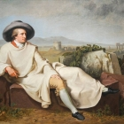 Ritratto di Volfango Goethe (Wilhelm Tischbein)