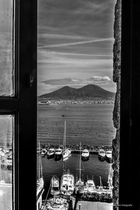 da una finestra di Castel dell'Ovo