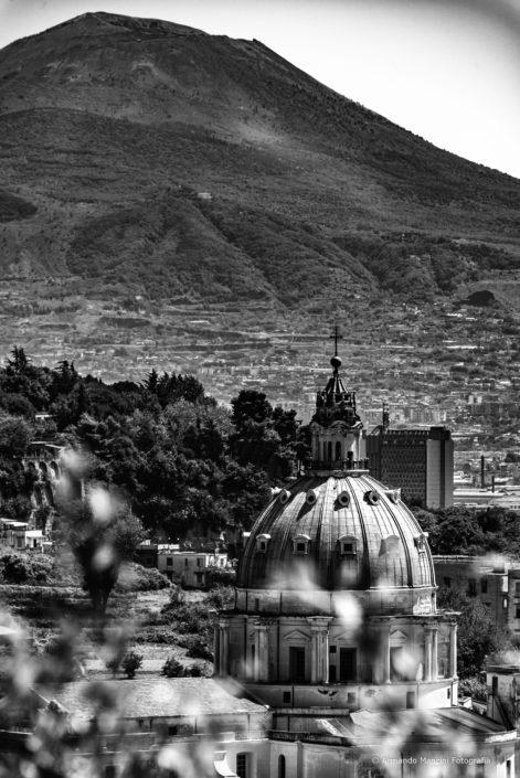 Il Vesuvio dal Poggio dei Colli Aminei